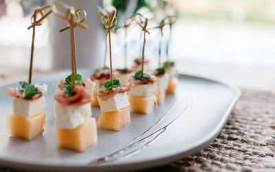 ORANGE CANDY CANAPES