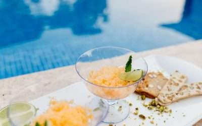ORANGE CANDY AND GIN GRANITA